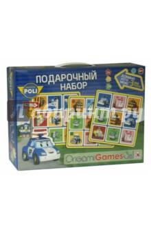 Настольная игра Robocar Poli. Подарочный набор 3 в 1