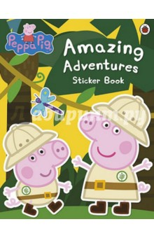 Amazing Adventures Sticker BookАнглийский для детей<br>Peppa, George and all their friends love to go on adventures - and now you can create them!<br>Use the hundreds of stickers in this book, and your amazing imagination, to decorate wonderful scenes for Peppa!<br>
