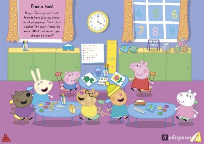 Иллюстрация 1 из 2 для Find-the-hat Sticker Book | Лабиринт - книги. Источник: Лабиринт