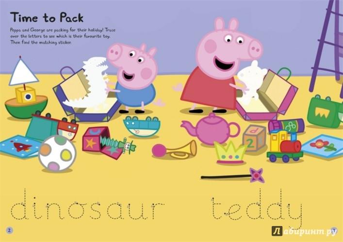 Иллюстрация 1 из 12 для Happy Holiday Sticker Activity Book | Лабиринт - книги. Источник: Лабиринт