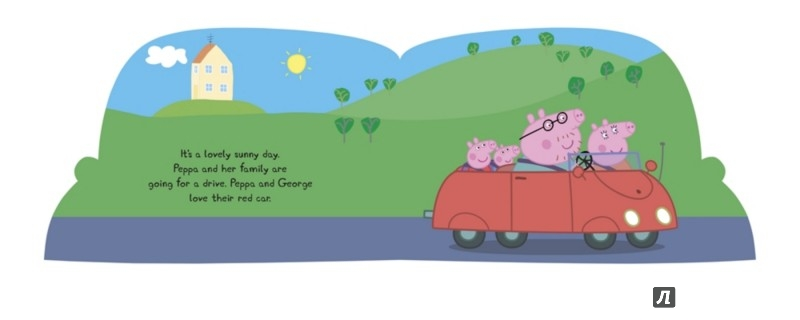 Иллюстрация 1 из 2 для Peppa's Car Ride | Лабиринт - книги. Источник: Лабиринт