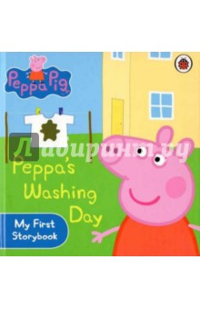 Peppas Washing DayАнглийский для детей<br>Oops! Peppa and George have made Daddy Pig s shirt dirty. What will happen when they try to wash out alt the mud?<br>
