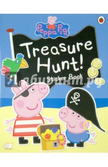 Treasure Hunt! Sticker BookАнглийский для детей<br>It s Pirate Day!<br>Peppa, George and all their friends are going on a treasure hunt. First they must learn to sail ships, build sandcastles and find the treasure map.<br>X marks the spot! Use the stickers and decorate the scenes to join the adventure!<br>