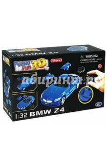 3D пазл BMW Z4 матовый синий (57084)