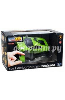 Настольная игра Lamborgini матовый зеленый. 3D модель-пазл