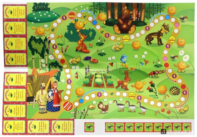 Иллюстрация 1 из 4 для Колобок. Настольная игра (11097) | Лабиринт - игрушки. Источник: Лабиринт