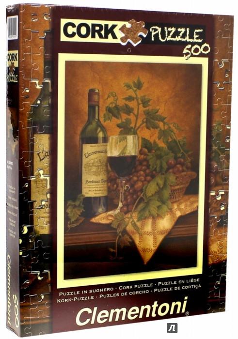 """Иллюстрация 1 из 2 для Пазл-500. Анна Браун """"Красное вино"""". Пробковый (30202)   Лабиринт - игрушки. Источник: Лабиринт"""