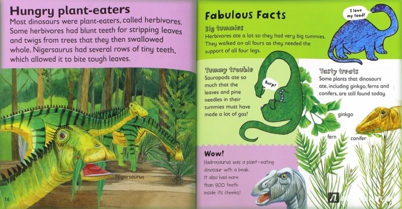 Иллюстрация 1 из 6 для Dinosaurs - Jaclyn Crupi   Лабиринт - книги. Источник: Лабиринт