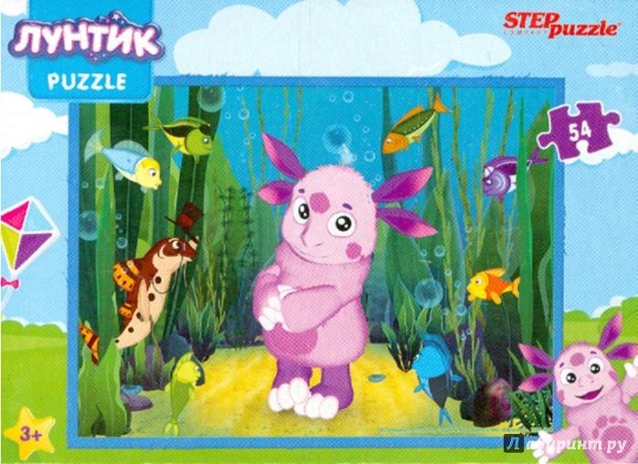 "Иллюстрация 1 из 10 для Step Puzzle-54 ""Лунтик+Барбоскины"" (71138)   Лабиринт - игрушки. Источник: Лабиринт"