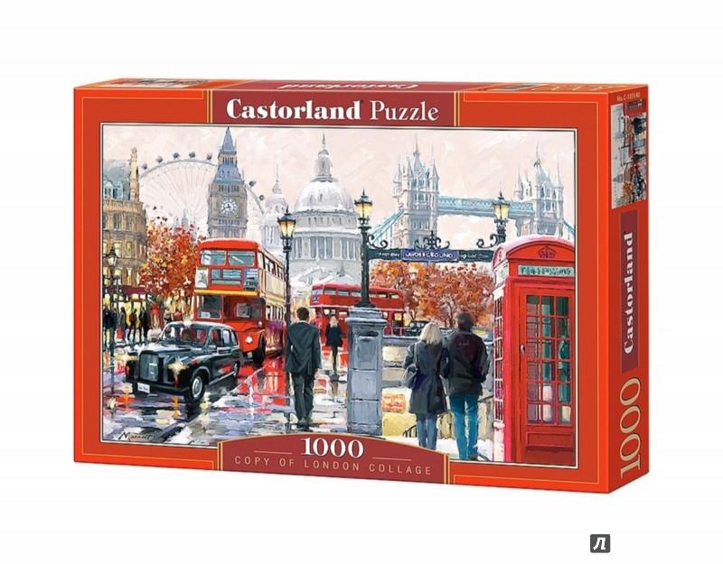 """Иллюстрация 1 из 10 для Puzzle-1000 """"Коллаж Лондон"""" (C-103140)   Лабиринт - игрушки. Источник: Лабиринт"""