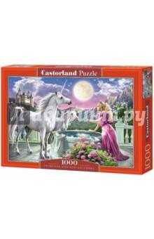 """Puzzle-1000 """"Принцесса и ее единорог"""" (C-103164)"""