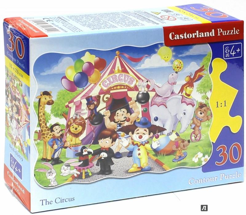 """Иллюстрация 1 из 7 для Puzzle-30 MIDI """"Цирк"""" (В-03419)   Лабиринт - игрушки. Источник: Лабиринт"""