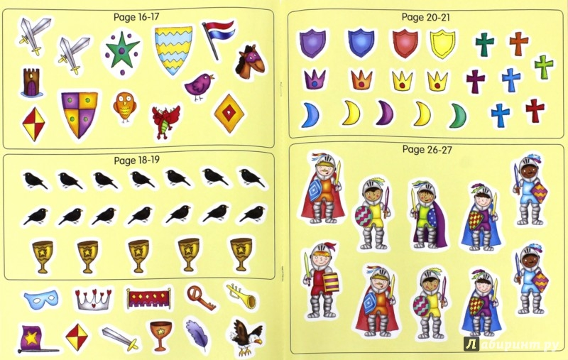Иллюстрация 1 из 5 для My Fearless Knight. Activity and Sticker Book | Лабиринт - книги. Источник: Лабиринт