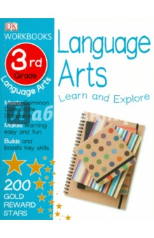 DK Workbook. Language Arts. 3rd GradeАнглийский язык<br>DK Workbooks: Language Arts: Grade 3 will sharpen the language arts skills of 8 and 9 year olds. With lessons to help understand speech, reflexive pronouns, and cause and effect, plus exercises on poetry, myths, drama, and more, third graders will boost their confidence and knowledge in these subject areas.<br>Developed in consultation with leading educational experts to support curriculum learning, DK Workbooks: Language Arts is an innovative series of home-learning language arts workbooks that is closely linked to school curriculum, and helps make learning easy and fun! Each title is packed with exercises and activities to strengthen what children learn in school. With clear questions and supportive illustrations to help children to understand each topic, the books reinforce key concepts such as phonics, spelling, grammar, and punctuation. A parents  section contains answers, tips, and guidance to provide support, and a certificate of achievement will reinforce confidence in kids by rewarding their accomplishments.<br>Supports the Common Core State Standards.<br>