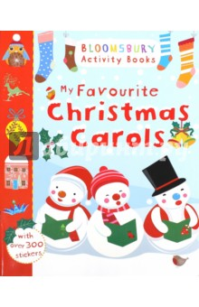 My Favourite Christmas CarolsИзучение иностранного языка<br>A beautiful activity book, bursting with festive activities and music. Decorate the Christmas stockings, play spot the difference with the angels, colour in the robins and much more!<br>Includes Lyrics and piano music-for Christmas favourites such as Silent Night, Ding Dong Merrily on High and We Wish You a Merry Christmas.<br>