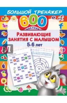 Развивающие занятия с малышом. 5-6 лет