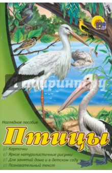 Наглядное пособие А4. Птицы