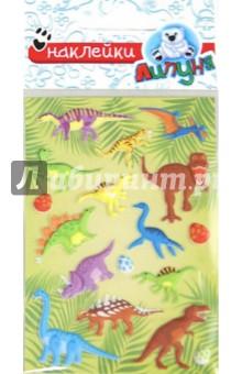 Зефирные наклейки Динозавры (MMS029)Наклейки детские<br>Эксклюзивное предложение - интересный, мягкий и воздушный как зефир материал, высокое качество изображения и цветопередачи. Многократное переклеивание без потери качества! <br>Состав: полипропиленовые смолы и другие полимерные материалы<br>Для детей от 3-х лет. <br>Упаковка: блистер<br>Сделано в Китае.<br>
