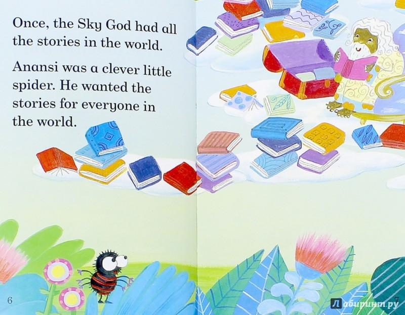 Иллюстрация 1 из 13 для Anansi and the Sky God - Lorraine Horsley | Лабиринт - книги. Источник: Лабиринт