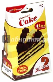 Легкий пластилин. Набор Торт шоколадный (ОЕ-Cm/CC2)