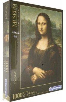 """Пазл-1000 Леонардо да Винчи """"Мона Лиза"""" (31413) Clementoni"""