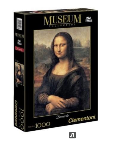 "Иллюстрация 1 из 6 для Пазл-1000. Леонардо да Винчи ""Мона Лиза"" (31413) | Лабиринт - игрушки. Источник: Лабиринт"
