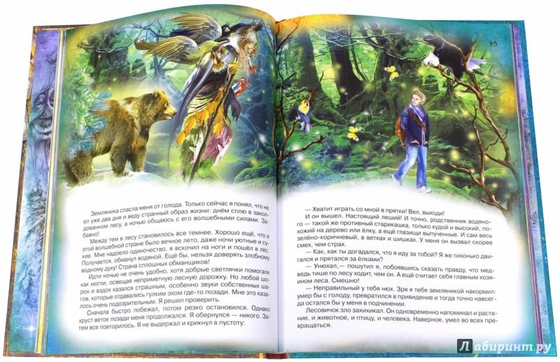 Иллюстрация 1 из 11 для Волшебные существа сказочного леса. Энциклопедия - Елена Чернова   Лабиринт - книги. Источник: Лабиринт