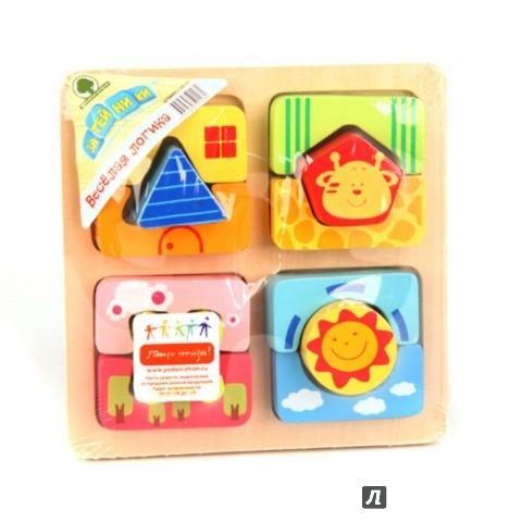 """Иллюстрация 1 из 2 для Пазл """"Цветные вставки"""" (GT5895)   Лабиринт - игрушки. Источник: Лабиринт"""