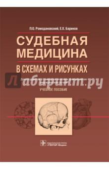 Судебная медицина в схемах и рисунках. Учебное пособие