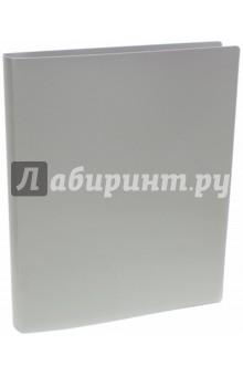 Папка на кольцах Basic (4 кольца, А4, серая) (255071-11)Папки на кольцах<br>Папка на кольцах.<br>Для бумаг формата А4.<br>Товар предназначен для хранения бумажных носителей.<br>4 кольца.<br>Сделано в России.<br>