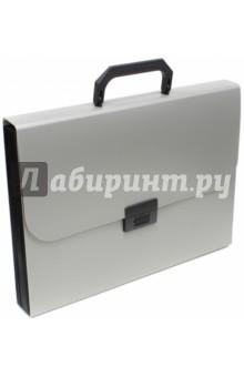 """Портфель """"Basic"""" (12 разделителей, А4, серый) (255077-11)"""