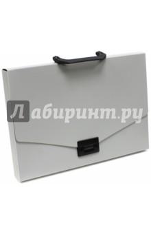 """Портфель """"Basic"""" (без разделителей, А4, серый) (255076-11)"""