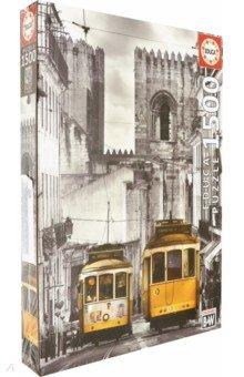Пазл-1500 Район Алфама, Лиссабон (16311)Пазлы (1500 элементов)<br>Пазл-мозаика.<br>1500 деталей.<br>Размер собранной картинки: 60 х 85 см.<br>Материал: картон.<br>Упаковка: картонная коробка.<br>Сделано в Испании.<br>