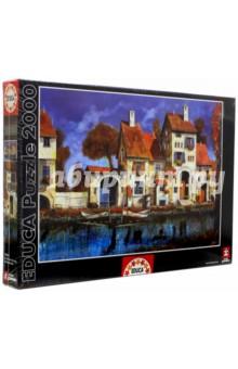 Пазл-2000 Дом на берегу озера, Гвидо Борелли (16316)Пазлы (2000 элементов и более)<br>Пазл-мозаика.<br>2000 деталей.<br>Размер собранной картинки: 96 х 68 см.<br>Материал: картон.<br>Упаковка: картонная коробка.<br>Сделано в Испании.<br>