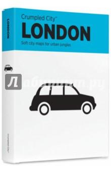 Мятая карта LONDON (133385)