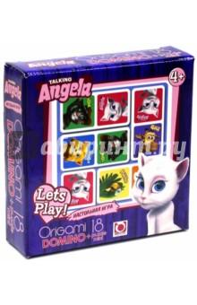 """Домино + пазл-18 """"Talking Angela"""" (01009)"""