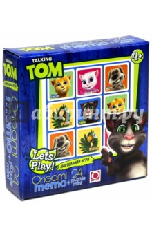 "Мемо + пазл-24 ""Talking Tom"" (01011)"