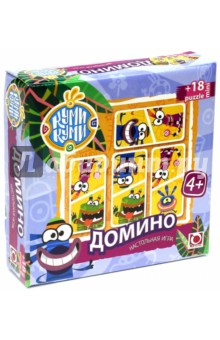 "Домино + пазл-18 ""Куми-Куми"" (00732)"
