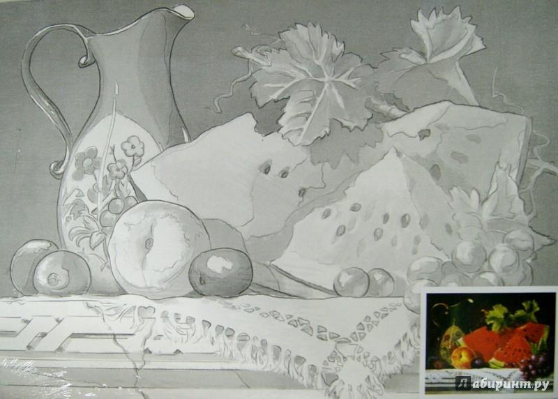"""Иллюстрация 1 из 2 для Холст грунтованный на картоне с контуром """"Натюрморт"""" (30х40 см) (190626)   Лабиринт - канцтовы. Источник: Лабиринт"""