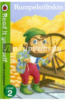 RumpelstiltskinАнглийский для детей<br>In this classic fairy tale, a miller s daughter has to spin straw into gold for the king. A funny little man comes to help her, but if she can t guess his name, this Rumpelstiltskin will take her first-born child!<br>Read it yourself with Ladybird is one of Ladybird s best-selling series. For over thirty-five years it has helped young children who are learning to read develop and improve their reading skills.<br>Each Read it yourself book is very carefully written to include many key, high-frequency words that are vital for learning to read, as well as a limited number of story words that are introduced and practised throughout. Simple sentences and frequently repeated words help to build the confidence of beginner readers and the four different levels of books support children all the way from very first reading practice through to independent, fluent reading.<br>Each book has been carefully checked by educational consultants and can be read independently at home or used in a guided reading session at school. Further content includes comprehension puzzles, helpful notes for parents, carers and teachers, and book band information for use in schools.<br>Rumpelstiltskin is a Level 2 Read it yourself title, ideal for children who have received some initial reading instruction and can read short, simple sentences with help.<br>