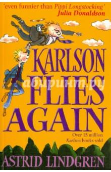 Lindgren Astrid Karlson Flies Again