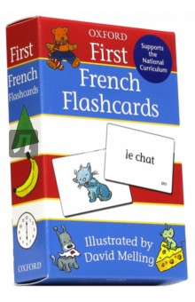 First French 50 double-sided F/cardsФранцузский язык<br>Oxford First French Flashcards are a tried and tested way for children to learn French words. 50 cards introduce children to time, weather, opposites, numbers, shapes, food, colours, and transport words, and more. Plus five extra cards are packed with ideas and instructions for games to reinforce learning.<br>