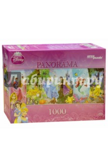 "Step Puzzle-1000 ""Disney. Принцессы"" (79450) Степ Пазл"