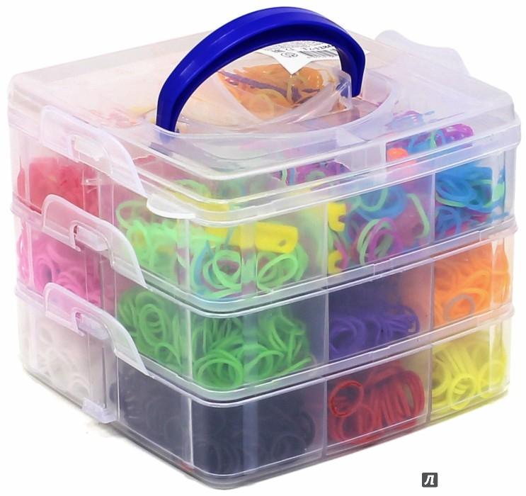 Иллюстрация 1 из 2 для Набор цветных резиночек, 3600 шт (TZ 12860) | Лабиринт - игрушки. Источник: Лабиринт
