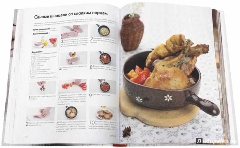 Иллюстрация 1 из 8 для Большая энциклопедия. Блюда из мяса   Лабиринт - книги. Источник: Лабиринт