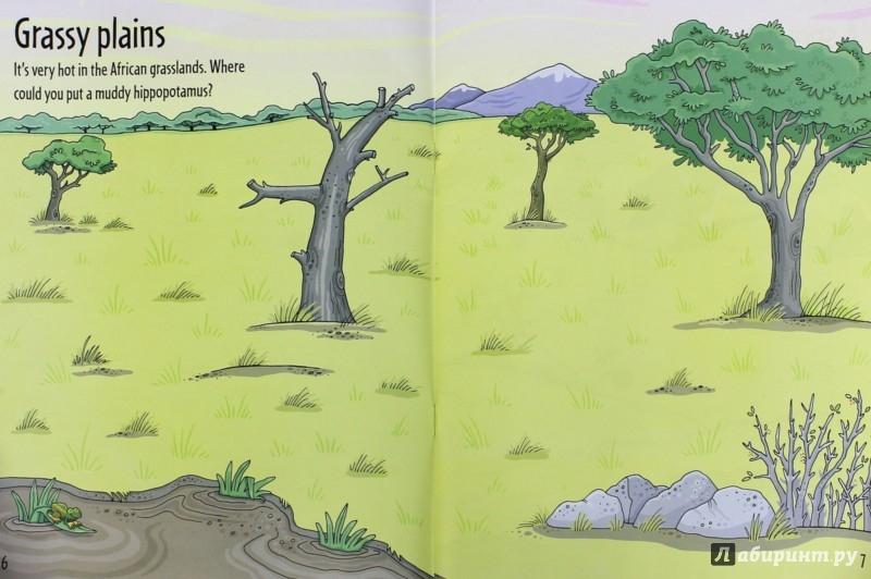 Иллюстрация 1 из 8 для Animal Sticker Book - Jessica Greenwell | Лабиринт - книги. Источник: Лабиринт