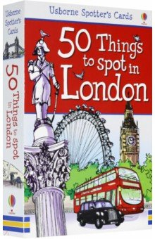 50 Things to Spot in London. FlashcardsИзучение иностранного языка<br>From feeding time at London Zoo and bugs in the Darwin Centre to watching a play at Shakespeare s Globe, this up to date set of spotter s cards will help make a trip to London really special. Each of the 50 cards has a picture of a famous London landmark on one side and fascinating info on the other, along with snippets of the history of this great city and tips about other iconic sights to see in each area.<br>