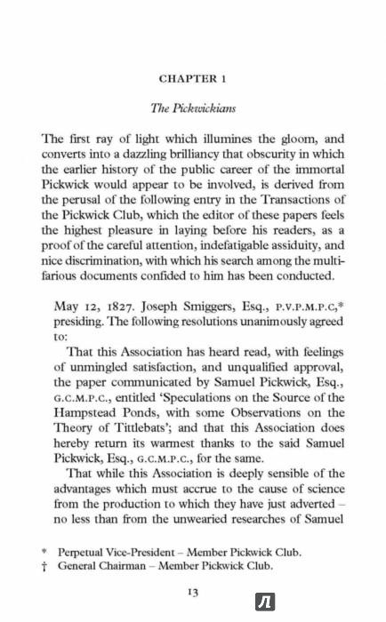 Иллюстрация 1 из 6 для The Pickwick Papers - Charles Dickens   Лабиринт - книги. Источник: Лабиринт