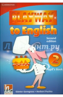 Playway to English. Level 2. Pupils BookИзучение иностранного языка<br>Playway to English Second edition is a new version of the popular four-level course for teaching English to young children. Pupils acquire English through play, music and Total Physical Response, providing them with a fun and dynamic language learning experience. In the Pupil s Book: <br>- Fantastic varied tasks keep children motivated <br>- Cross-curricular activities take children s learning beyond the English language classroom<br>- Self evaluation sections help children retain and recycle new language <br>- Regular Word play sections encourage pupils to use the target language creatively.<br>2-е издание.<br>