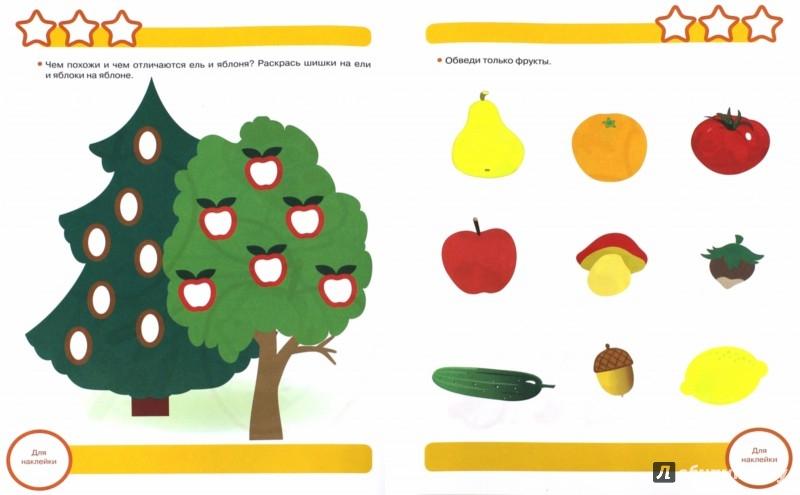 Иллюстрация 1 из 6 для Логика. Сравниваем предметы. Рабочая тетрадь с наклейками - Маврина, Терентьева | Лабиринт - книги. Источник: Лабиринт